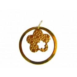 Colgante flor de oro - SF/2093