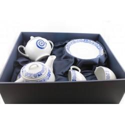 Juego de Té de porcelana...