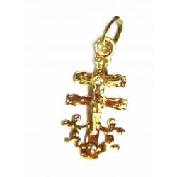 Cruz de Caravaca de oro de...