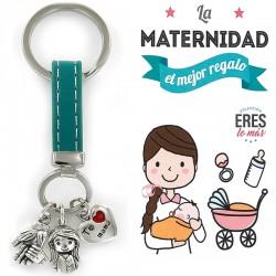 Llavero  La Maternidad es...