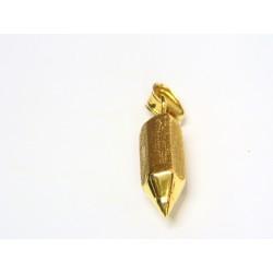 Colgante unisex de oro lápiz