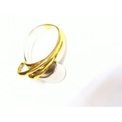 Anillo oro bicolor 5381
