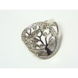 Anillo plata árbol de la...