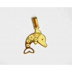 Colgante oro delfín 7062