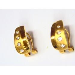 Pendientes de oro con...