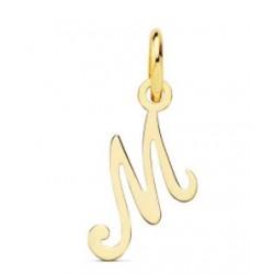 """Colgante oro inicial """"M""""..."""