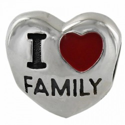 Abalorio I Love Family para...
