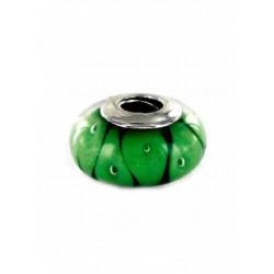 Abalorio Murano verde para...
