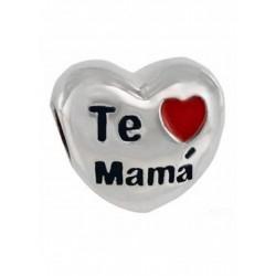 Abalorio Corazón Mamá para...