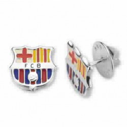PIN PLATA  FUTBOL CLUB BARCELONA - 10-061